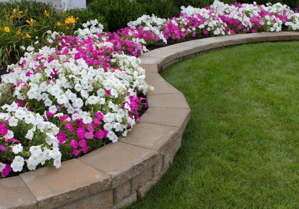 concrete walls for gardens
